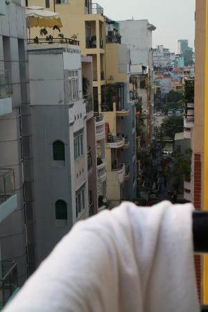 Titi Hotel: small balcon