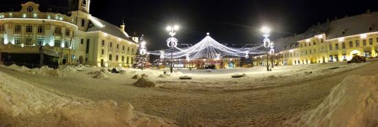 Grand-Place (Piata Mare) : Post Christmas Big Square Sibiu