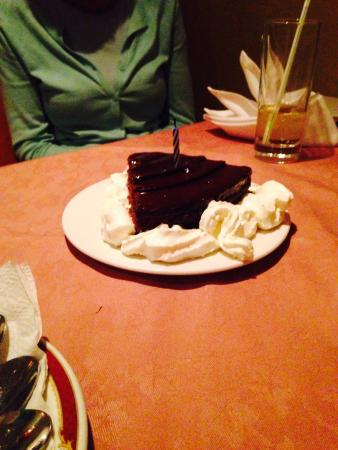 Motherland Spice: I would highly recommend food is delicious also staff were lovely brought a cake out for my frie
