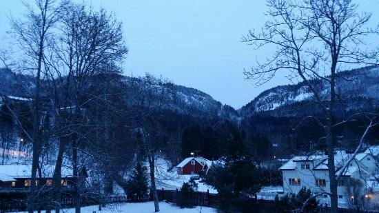 Sundvolden Hotel: View from room