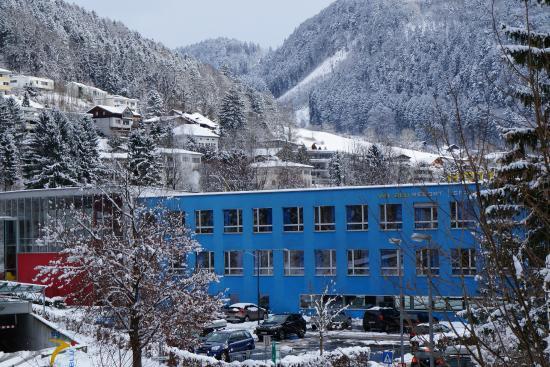 VAL BLU Resort SPA & Sports: Winterlandschaft near ValBlu