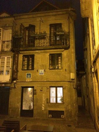 Hotel Alda Algalia: Facha do hotel. Fiquei nessa varada mais alta.