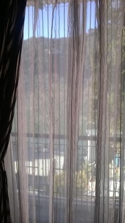 Hotel Krishna : Towards rooms's balcony