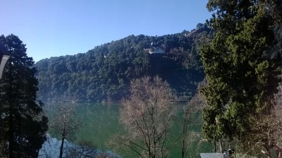 Hotel Krishna : View from balcony