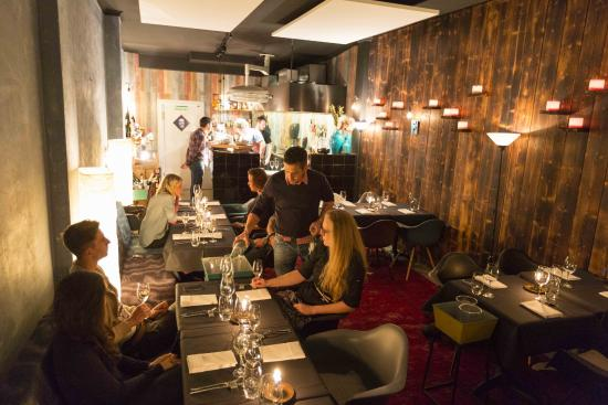 Offene Küche Bild Von Five Bochum Tripadvisor