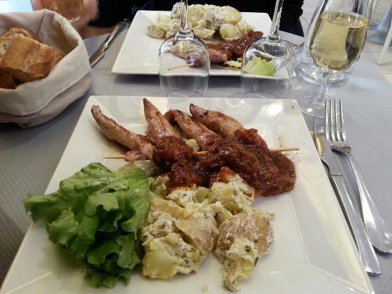 Brasserie Le Cardinal: Aiguillettes