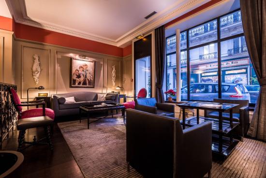 Hotel le Lavoisier: Hotel Lounge