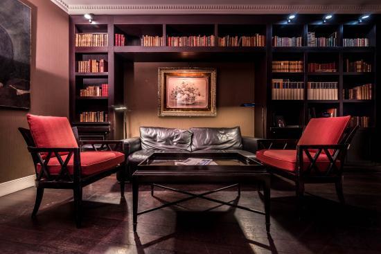 Hotel le Lavoisier: Hotel Bar Bibliothèque