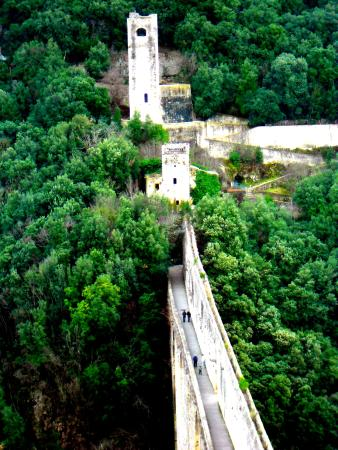 Spoleto, Italië: Ponte