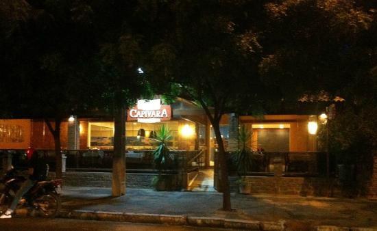 Capivara: Fachada do Restaurante