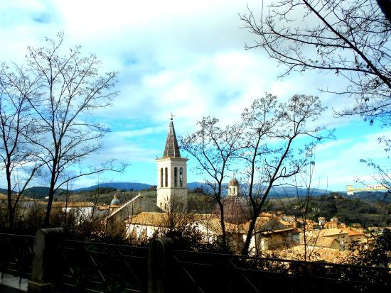 Spoleto, Italië: Panorama