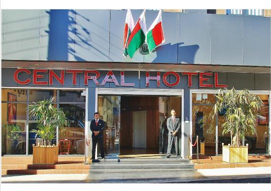 Central Hotel Tana : entrée