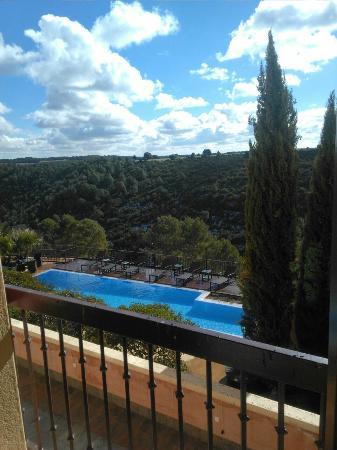 Hotel Palacio Villa de Alarcón & Spa: Preciosas vistas desde la habitación