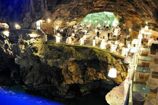 Hotel Ristorante Grotta Palazzese Restaurant And Wedding With Www Italianbestweddings Co Uk