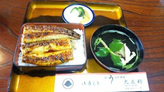 Sakawa-cho, Japon : 鰻重