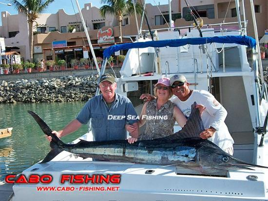 Brian caught a 120lb marlin we threw back picture of for Deep sea fishing trips