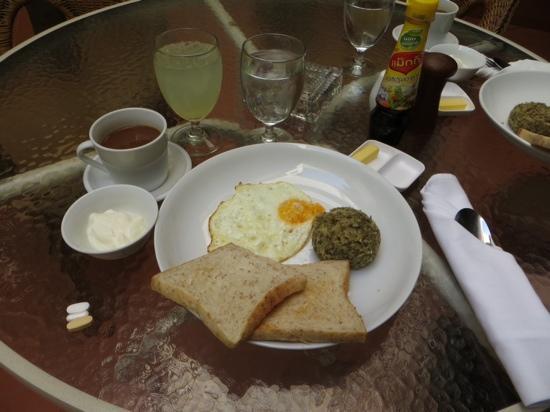 Hotel Khamvongsa: Guatemalan Farmer's Breakfast