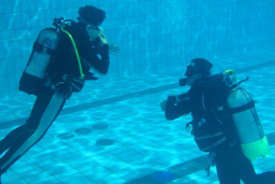 Diving Centre Zaka SUB Bled: Pool Training