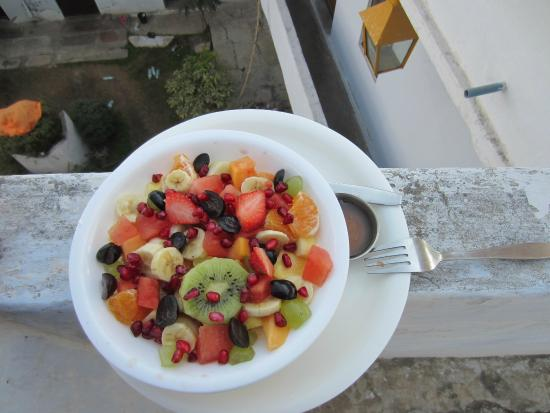 Hotel Lake View : Best Muesli.  There should always be pomegranates!