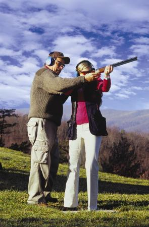 The Omni Homestead Resort: Shooting Club offers sporting clays, skeet, trap, five-stand and rifle range.