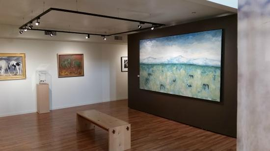 "Wildling Art Museum : A view of ""Wild Spirit"" featuring 23 artists"