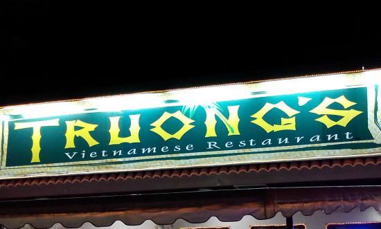 Restaurant Truong : 夜は大繁盛