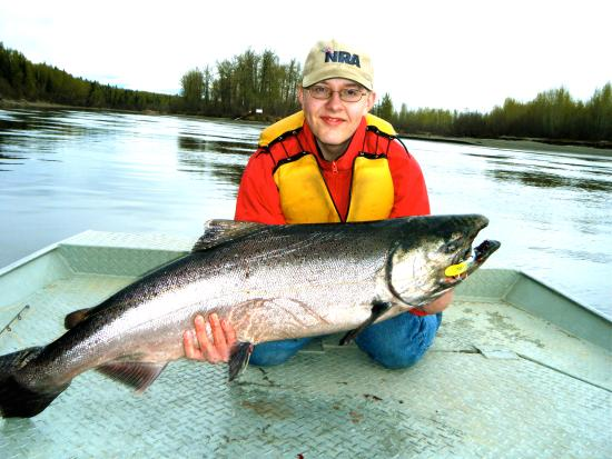 Fishtale river guides alaska salmon fishing minute for Salmon fishing anchorage