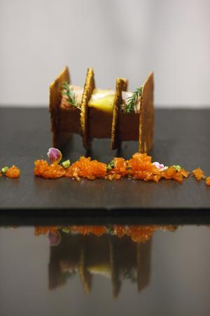 Restaurante Parador de La Granja : Foie