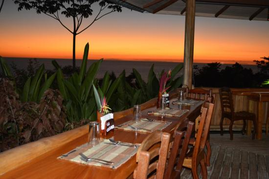 La Cusinga Eco Lodge: View from our restaurant