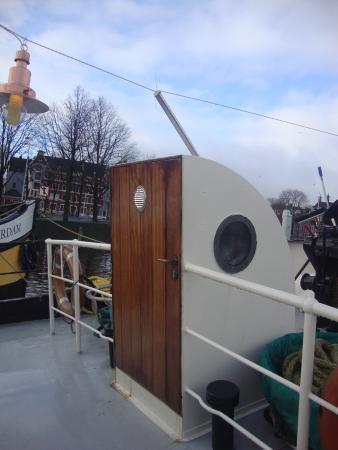 Hotelboat Zwaan: Entrada da suíte 7