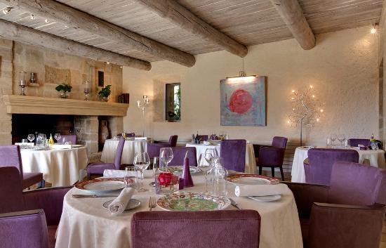 Mas de Fauchon: Restaurant