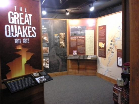 New Madrid, MO: Come find out about the Grat Quakes of 1811-12