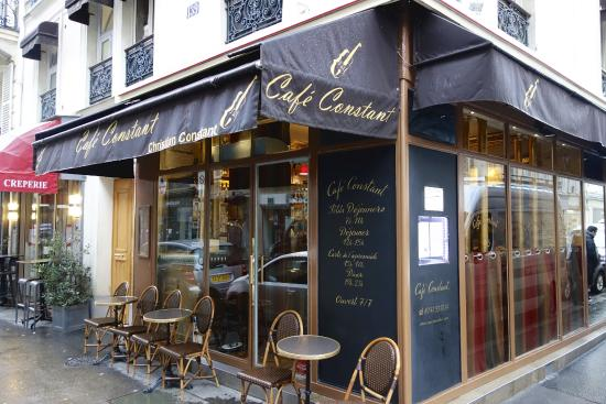 Chef Constant Restaurant Paris