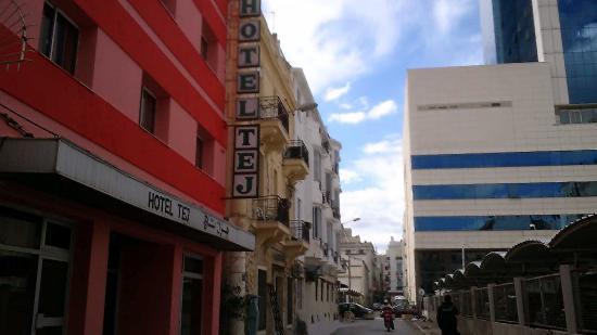 Hotel Tej: Situe pres de l'hotel Africa