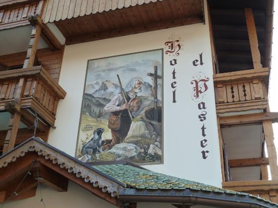 Hotel el Paster: Particolare sul davanti