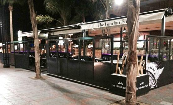 The london pub terrace open all year around picture of for Terrace 6 pub indore