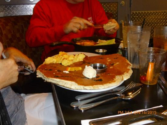 Hash House A Go Go: Blueberry Pancake