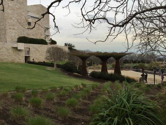 The Getty Center: Jardim do Getty Center