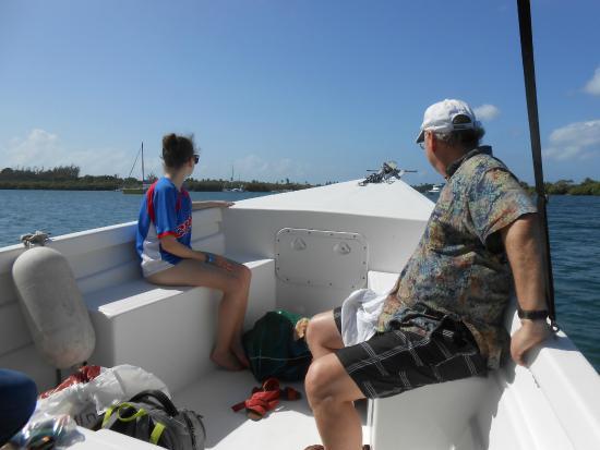 Salty Tours Tobago: Enjoying the views