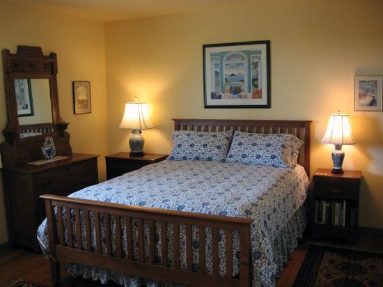 Zen Garden Bed and Breakfast: Hiroshige bedroom