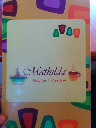 Mathilda casa de te - Menu part 1