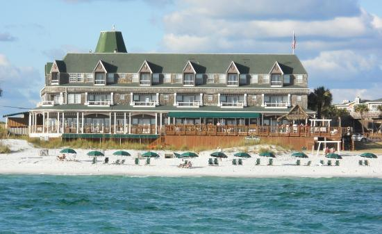 Henderson Park Inn: View from the Gulf of Mexico