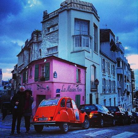Maison rose de maurice utrillo montmartre photo de for Eugenie les bains la maison rose