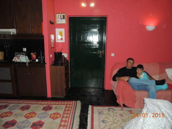 Quinta da Dourada : Area da Sala/cozinha