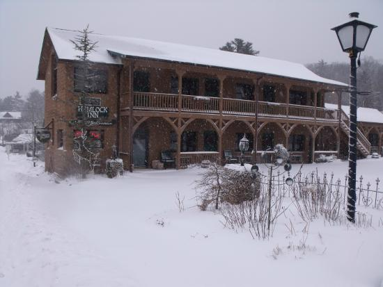 Hemlock Inn: Winter time in Blowing Rock