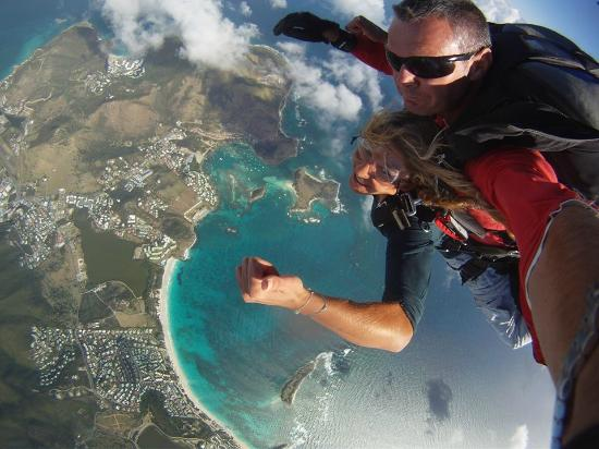 Grand Case, St Marteen/St. Martin : Let's jump !