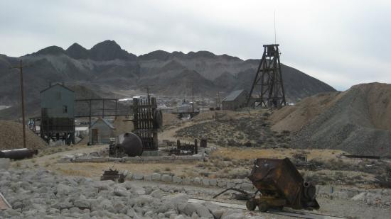 Various Mining Artifacts at the Tonopah Historic Mining Park