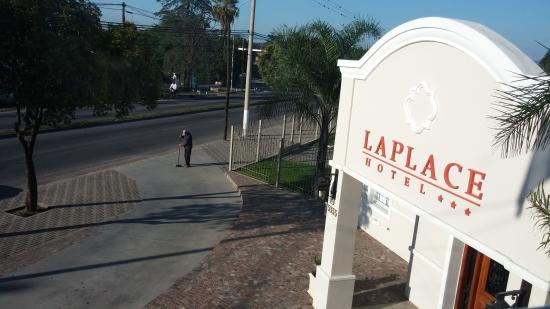 Laplace Hotel: Vista de mi habitación N° 216