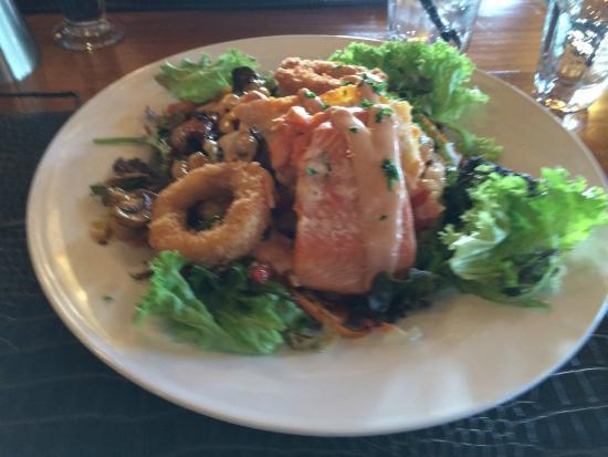 Cabbage Tree : Stewart Island seafood salad