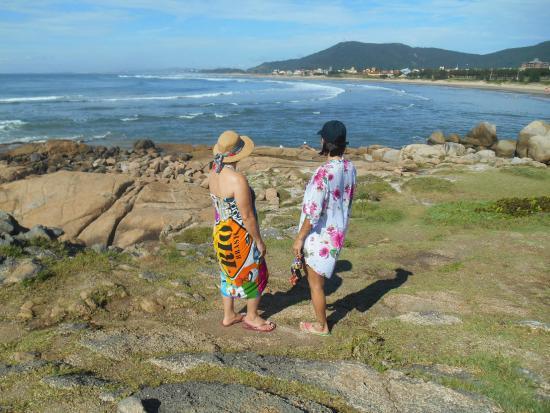 Praia Hotel Imbituba: Praia do canto da Vila